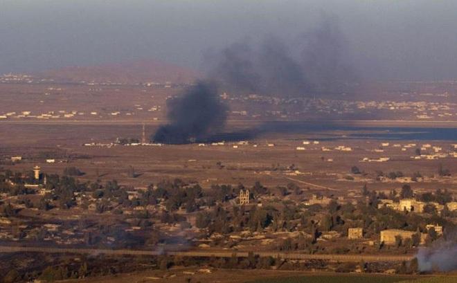 Nóng: Israel tiếp tục tấn công hủy diệt 3 khẩu đội pháo của Syria