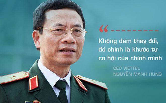 CEO Viettel Nguyễn Mạnh Hùng nêu 5 khát vọng trong năm 2017