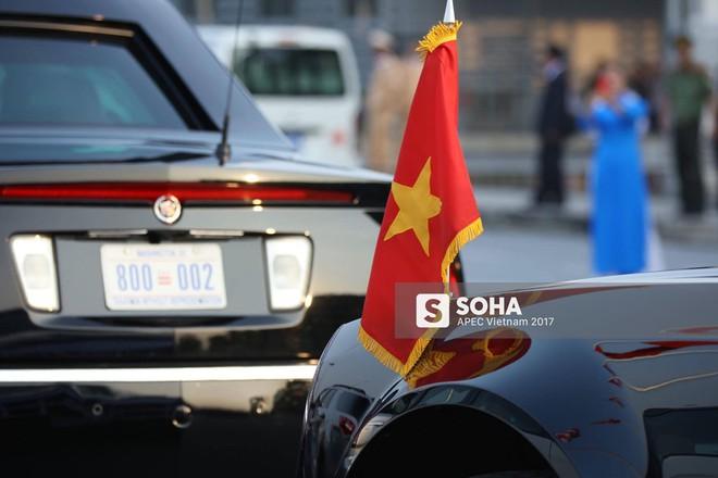 [ẢNH] Cận cảnh từng chi tiết siêu xe Quái thú của Tổng thống Mỹ Donald Trump tại Nội Bài - Ảnh 2.