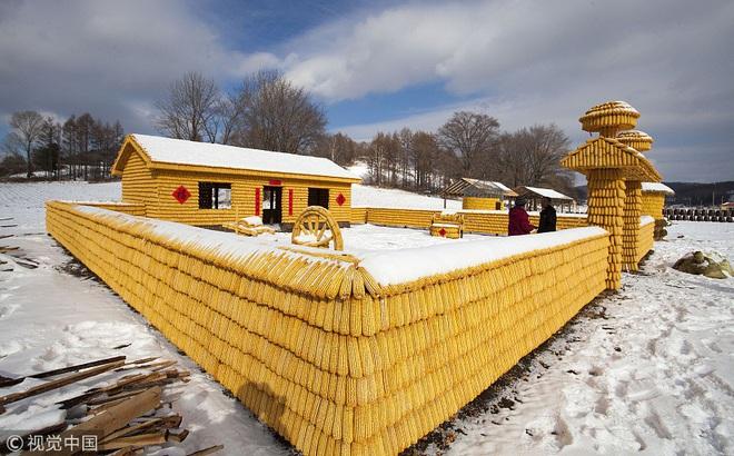 7 ngày qua ảnh: Ngôi nhà được làm từ toàn bắp ngô ở Trung Quốc