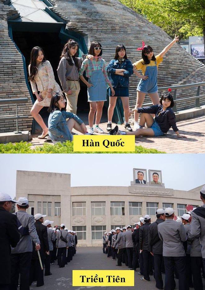 Sau 70 năm chia cắt, Hàn Quốc - Triều Tiên khác nhau như thế nào? - Ảnh 2.
