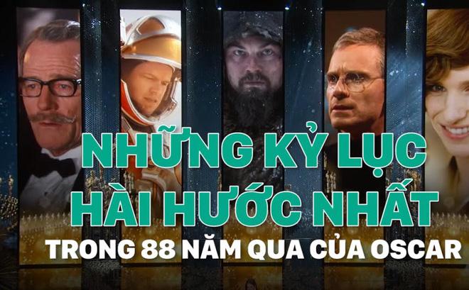[Mutex] Những kỷ lục hài hước nhất trong 88 năm qua của Oscar