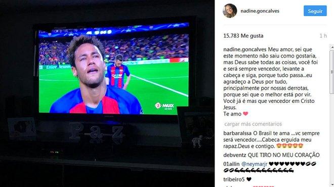 Neymar khóc không dừng được, đối thủ cũng phải ra an ủi - Ảnh 4.