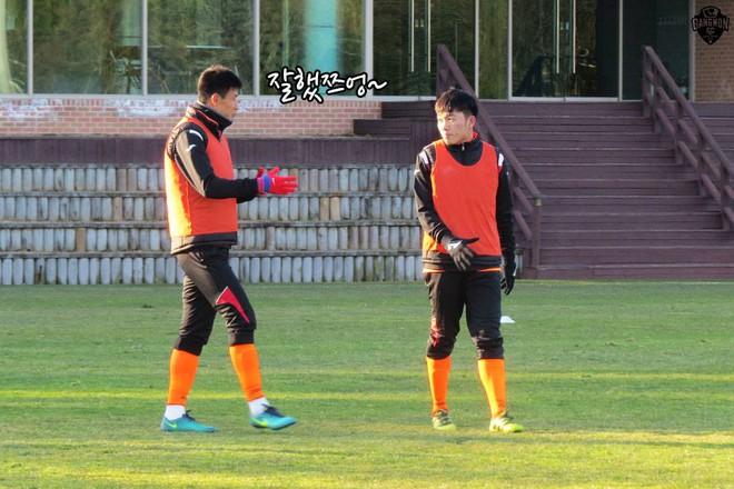 Gangwon FC choáng váng trước độ hot của Xuân Trường - Ảnh 1.