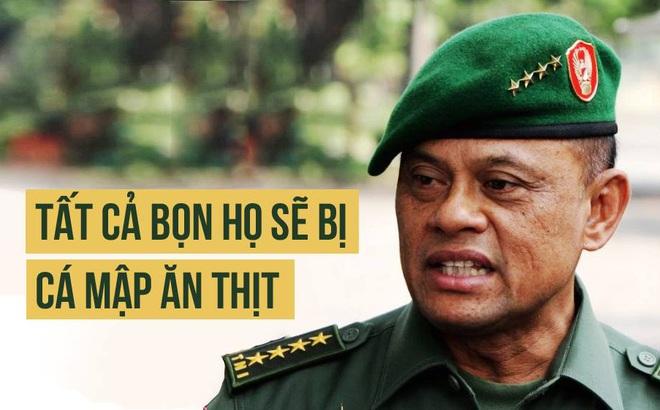 """Tuyên bố để mặc cá mập ăn thịt người di cư TQ: Tư lệnh Indonesia """"làm đúng ý"""" Bắc Kinh?"""