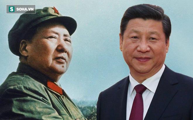 Image result for đại ca Mao trạch đông và tập cận Bình