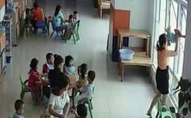 Đề nghị đình chỉ cơ sở mầm non có hiệu trưởng doạ ném trẻ ra ngoài cửa sổ