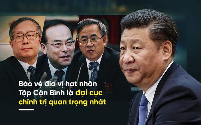 """3 quan chức cấp cao đồng loạt tuyên bố """"yêu cầu chính trị quan trọng nhất"""" ở Trung Quốc"""