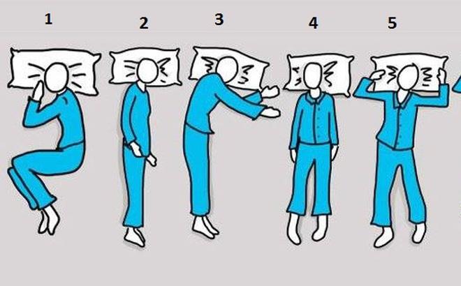 Bạn thường ngủ theo kiểu số mấy? Hãy chọn và xem kết quả