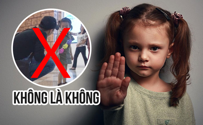 Mẹ Hàn Quốc dạy con gái bé nhỏ cách tránh xa kẻ ấu dâm