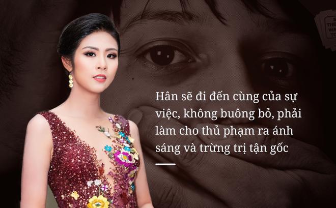 Hoa hậu Ngọc Hân: Sôi sục, phẫn nộ trước hành động ấu dâm