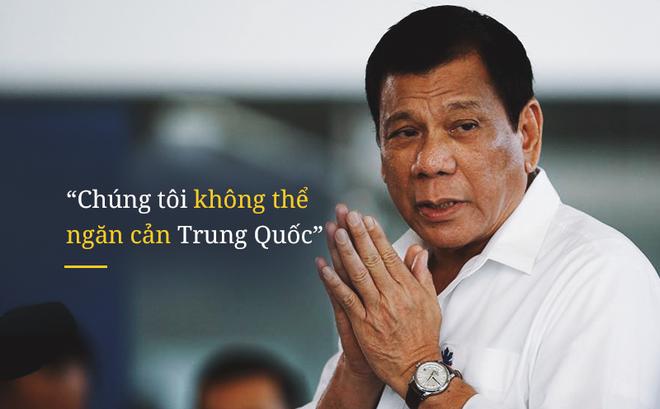 Tổng thống Duterte: Nếu tuyên chiến với Trung Quốc, ngày mai Philippines sẽ bị hủy diệt
