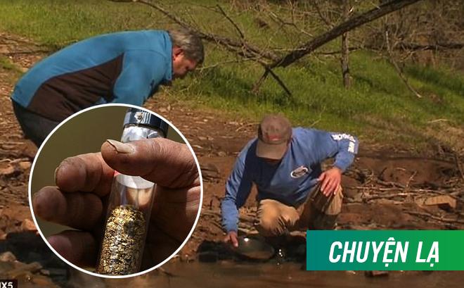 Mạch vàng 200 năm tuổi lộ diện nhờ cơn lũ lớn, hàng nghìn người đổ xô về tìm kiếm vận may