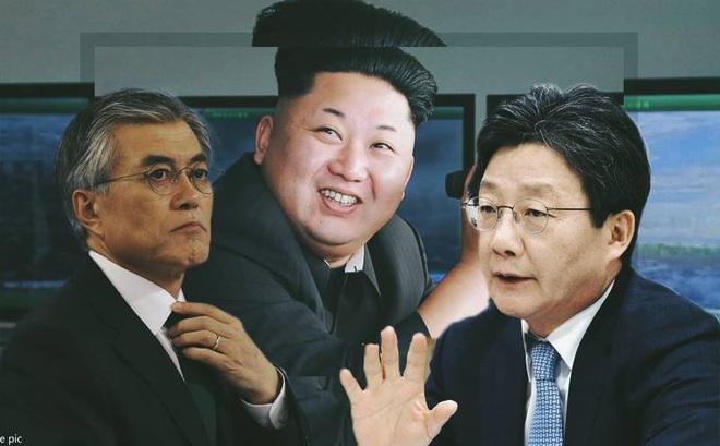 Bầu cử Tổng thống Hàn Quốc dậy sóng vì câu hỏi khó về Triều Tiên