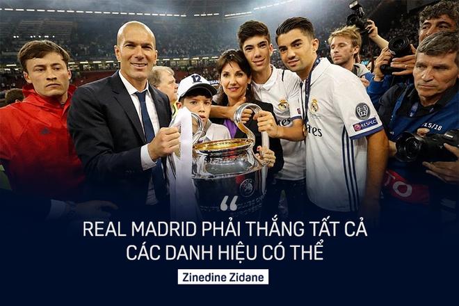 Zinedine Zidane đưa Real Madrid đến thành công bằng con đường vương đạo 1