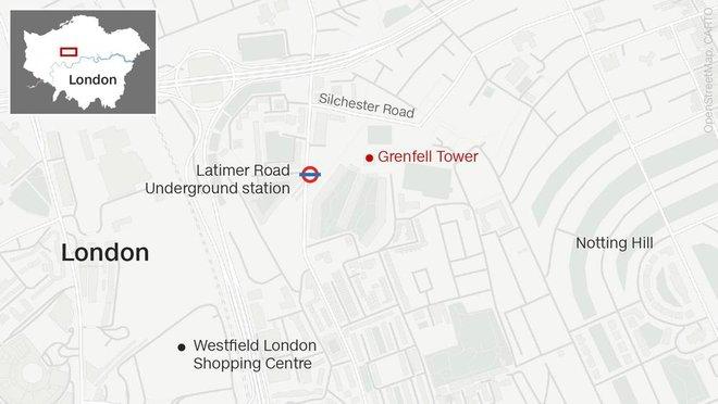 Anh: Trẻ em gào khóc gọi cha mẹ trong tòa tháp bị cháy kinh hoàng ở London - ảnh 2