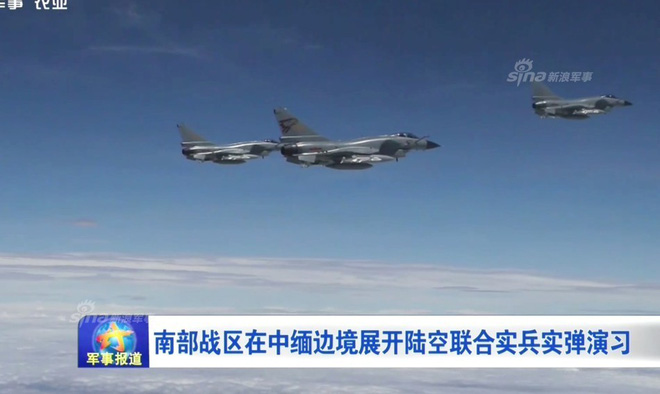 J-10 Trung Quốc ào ạt oanh kích khu vực biên giới giáp Myanmar trong tình hình nóng - Ảnh 5.