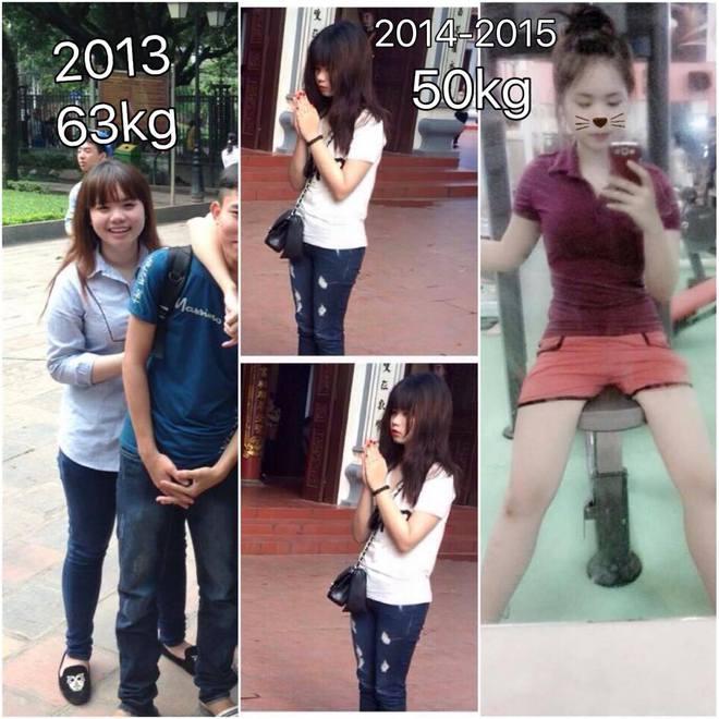 Gặp lại sau 2 tháng giảm cân, cô gái Hà Thành khiến bao người kinh ngạc - ảnh 2