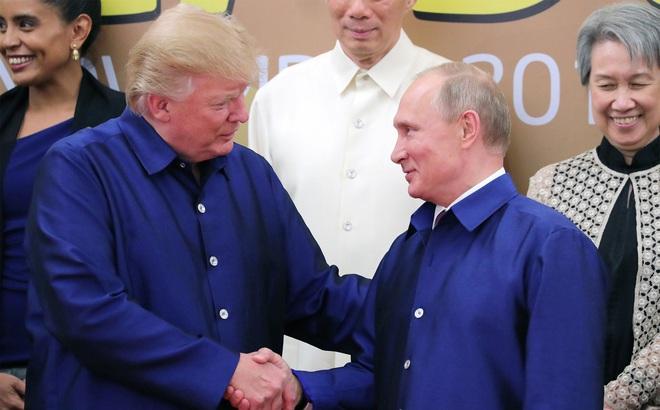Ông Trump và ông Putin đối thoại ngắn bên lề APEC, đã đạt thỏa thuận về Syria