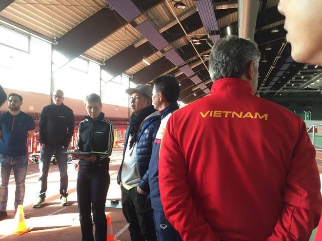 U20 Việt Nam vượt qua bài test thể lực gắt gao theo tiêu chuẩn Đức - Ảnh 1.