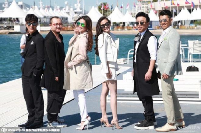 Sao Hoa Ngữ tại Cannes: Có thể đến nhưng không phải ai cũng được chú ý - ảnh 2
