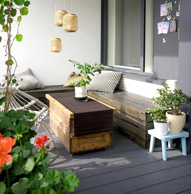 Lô gia – điểm nhấn trong phong cách thiết kế chung cư hiện đại - Ảnh 2.