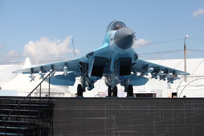 Từ Nga: Loạt ảnh cận cảnh MiG-35 lần đầu lộ diện tại MAKS 2017 - Ảnh 2.
