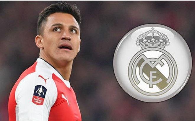 Ngôi sao Alexis Sanchez ra điều kiện đầu quân cho Real