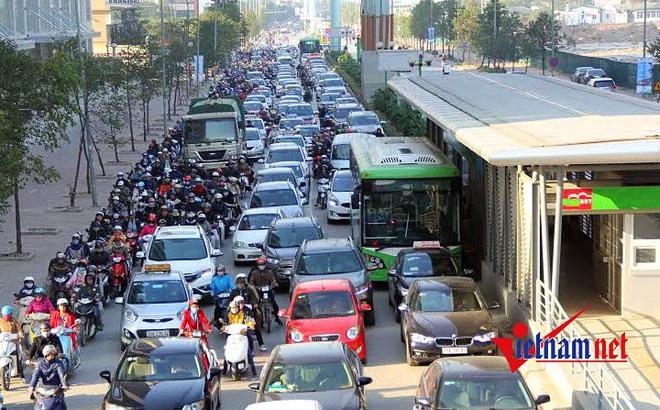 Hà Nội sẽ mở thêm tuyến buýt nhanh Kim Mã - Hòa Lạc