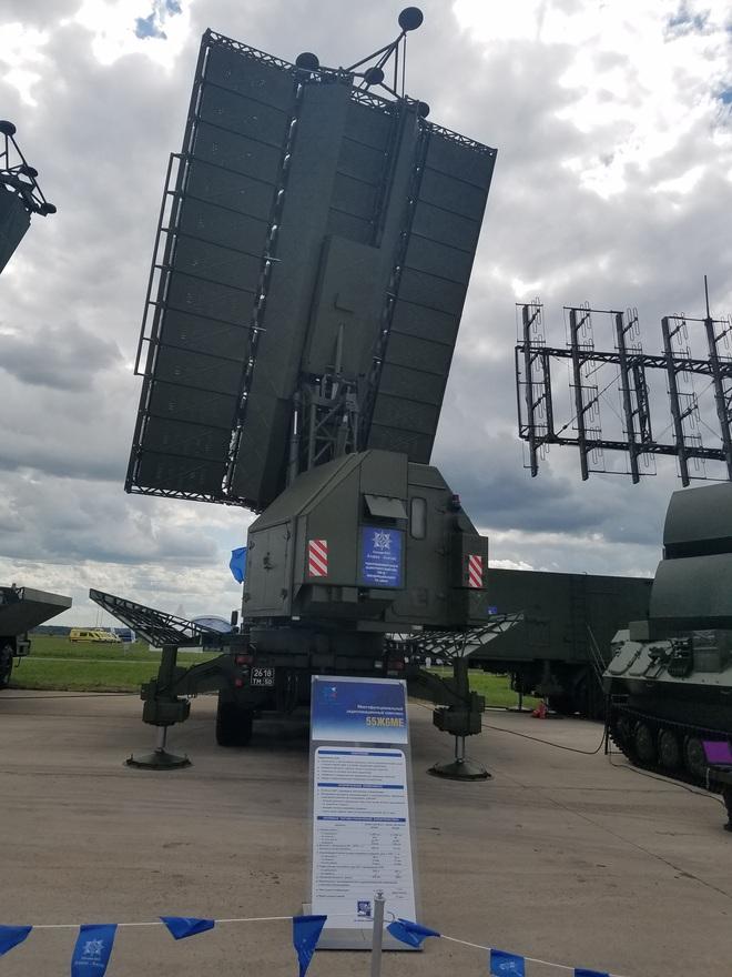 Nga khoe radar Protivnik-GE tại MAKS 2017 - Khách hàng lần đầu lộ diện: Sẵn sàng chiến đấu - Ảnh 4.