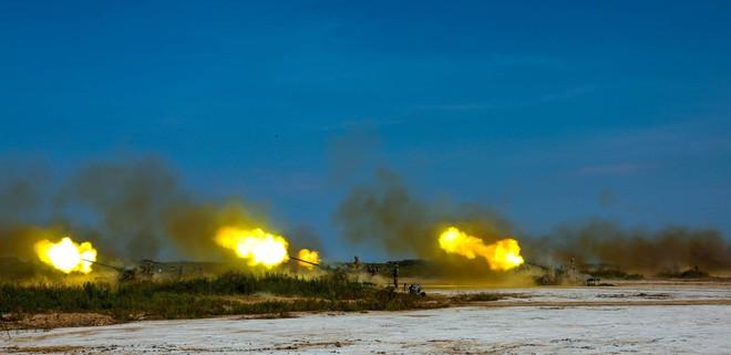 Pháo phòng không Type 59 cỡ 57 mm của Trung Quốc khai hỏa