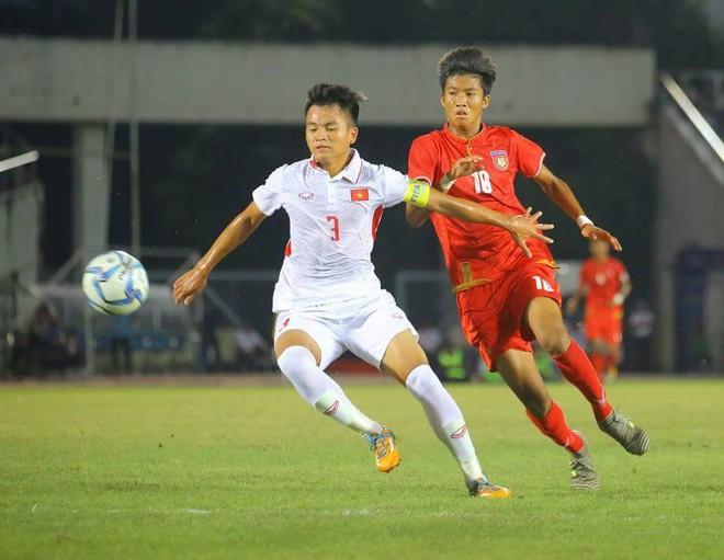 HLV Myanmar khen lấy khen để học trò Hoàng Anh Tuấn dù U18 Việt Nam bị loại - Ảnh 1.