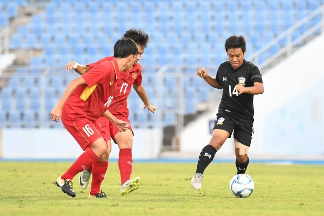 Đánh bại Thái Lan, Việt Nam vô địch sau loạt luân lưu nghẹt thở - Ảnh 2.