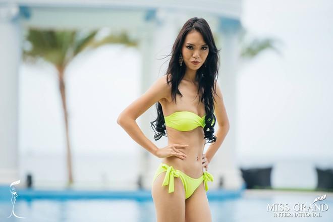 Nhan sắc gây sốc của nhiều thí sinh dự thi Hoa hậu Hoà Bình Quốc tế tại VN - Ảnh 15.