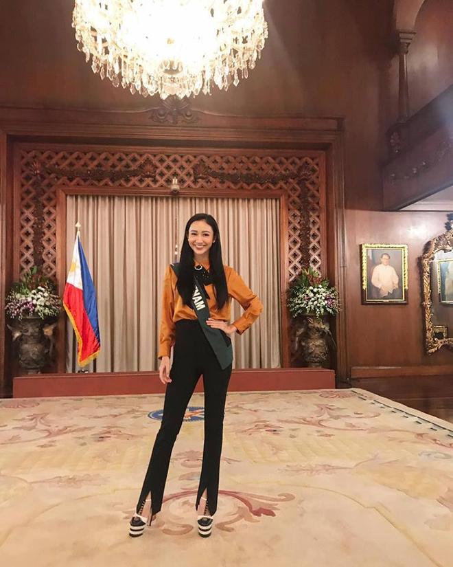 Hoa hậu Trái đất 2017: Hà Thu dẫn đầu bình chọn Gương mặt ăn ảnh - Ảnh 5.