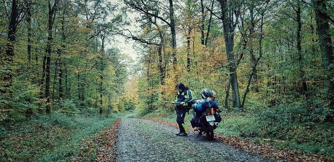 Chàng trai phượt bằng xe máy từ Việt Nam, vượt 20 nghìn km qua 23 quốc gia trong 150 ngày - Ảnh 13.