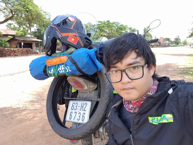 Chàng trai phượt bằng xe máy từ Việt Nam, vượt 20 nghìn km qua 23 quốc gia trong 150 ngày - Ảnh 3.