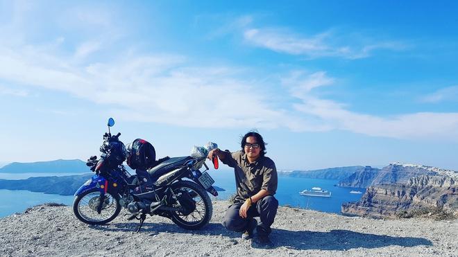 Chàng trai phượt bằng xe máy từ Việt Nam, vượt 20 nghìn km qua 23 quốc gia trong 150 ngày - Ảnh 19.
