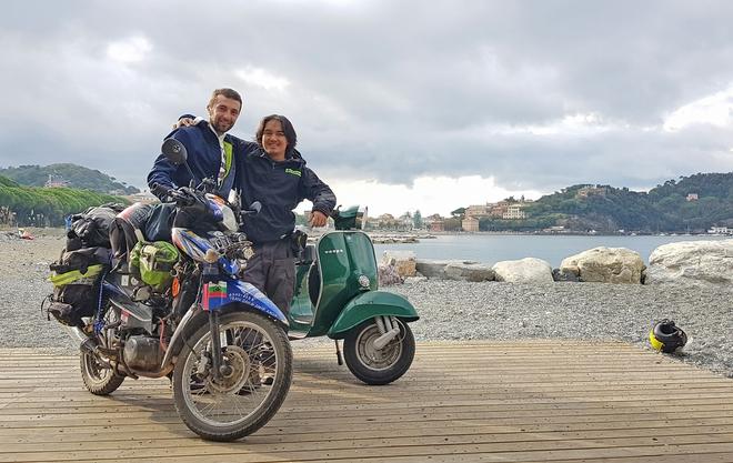 Chàng trai phượt bằng xe máy từ Việt Nam, vượt 20 nghìn km qua 23 quốc gia trong 150 ngày - Ảnh 8.