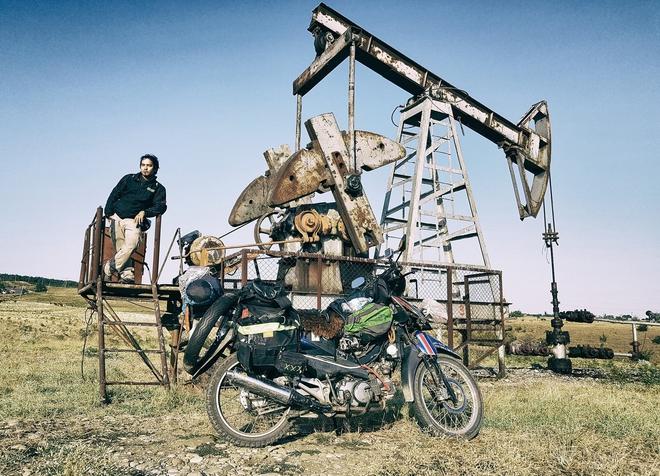 Chàng trai phượt bằng xe máy từ Việt Nam, vượt 20 nghìn km qua 23 quốc gia trong 150 ngày - Ảnh 22.