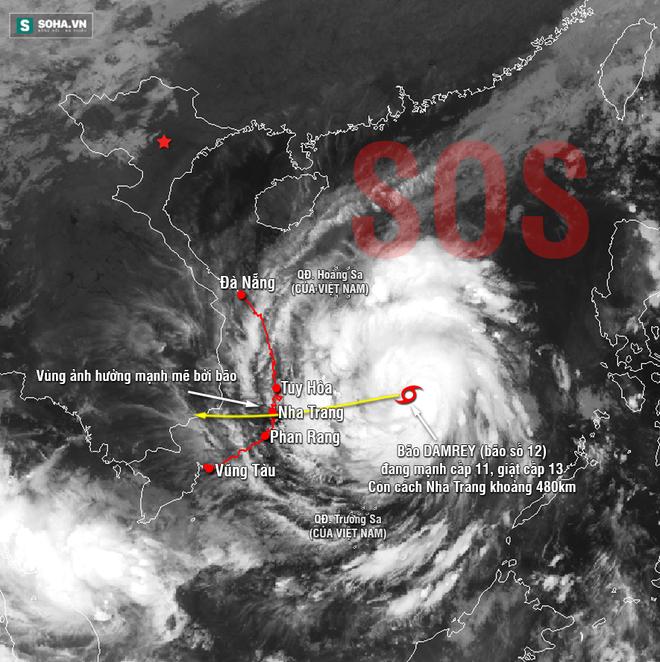 Nóng: Hãng tin nổi tiếng cập nhật dự báo hiểm họa bão Con Voi với Việt Nam, Lào, Campuchia - Ảnh 1.
