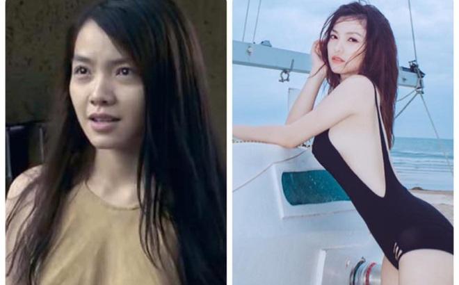 Phong cách sexy của cô gái đẹp nhất phim Việt mặc áo yếm đang gây tranh cãi