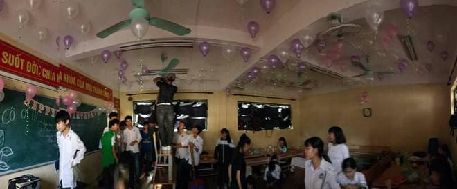 Học sinh lắm chiêu và món quà sinh nhật kỳ công dành tặng cô giáo chủ nhiệm - Ảnh 4.