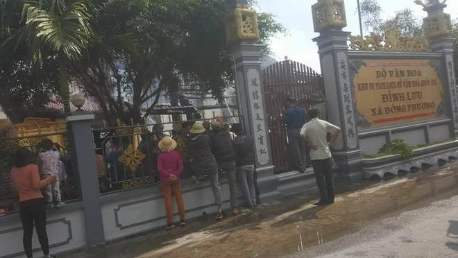 Thái Bình: Lửa lớn thiêu rụi ngôi đình được công nhận di tích cấp Quốc gia - Ảnh 3.