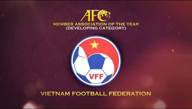 Lập chiến tích sánh ngang Nhật Bản, Hàn Quốc, Việt Nam nhận giải thưởng lớn cấp châu lục - Ảnh 1.
