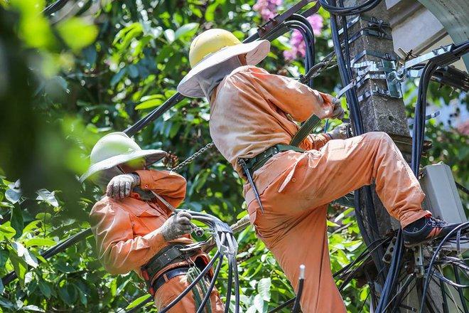 Người Hà Nội mặc bìa carton, hai tay hai ô giữa ngày nắng nóng lịch sử 11