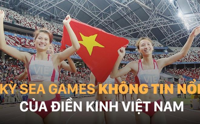 Kì SEA Games không tin nổi của điền kinh Việt Nam