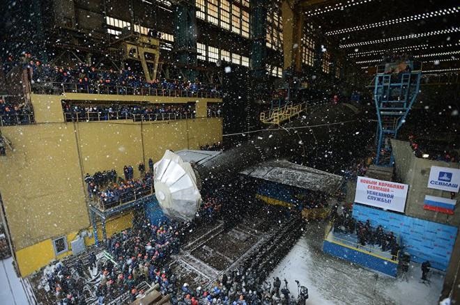 [ẢNH] Nga hạ thủy tàu ngầm hạt nhân thứ 2 lớp Yasen 2