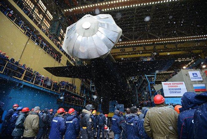 [ẢNH] Nga hạ thủy tàu ngầm hạt nhân thứ 2 lớp Yasen 1