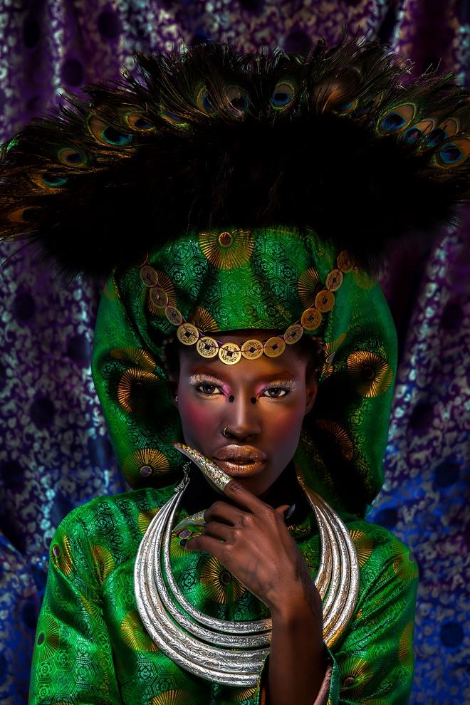Người mẫu Châu Phi gây ấn tượng mạnh với áo dài Việt - Ảnh 5.